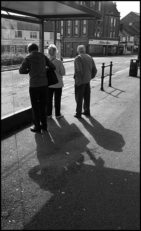 Waiting for the Bus | Leica SUMMICRON 50mm f2 <br> Click image for more details, Click <b>X</b> on top right of image to close
