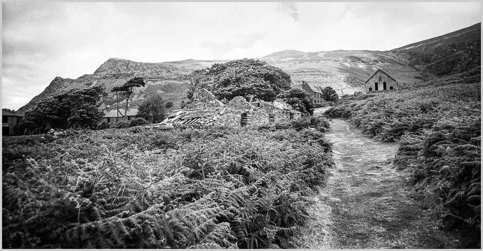 A Roll of FP3 - North Wales - Lleyn Peninsula - Nant Gwrtheyrn Ruin 1973 | Lens model not set <br> Click image for more details, Click <b>X</b> on top right of image to close