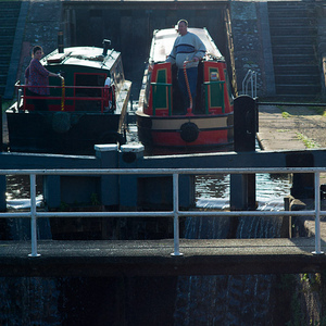Cheshire - Shropshire Union - Bunbury Locks | Leica TRI-ELMAR 28-35-50mm f4 ASPH <br> Click image for more details, Click <b>X</b> on top right of image to close