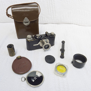 Leica I - The kit bought in the 1930
