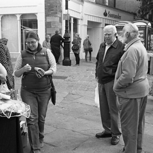 Conversations and Purchases - Chesterfield Market | Leica SUMMICRON 50mm f2 <br> Click image for more details, Click <b>X</b> on top right of image to close