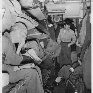 Troopship - Korean War | Lens model not set <br> Click image for more details, Click <b>X</b> on top right of image to close