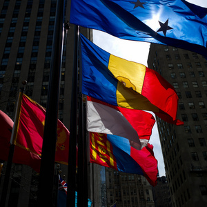 Rockerfeller flags | Leica ELMARIT 28mm f2.8 ASPH