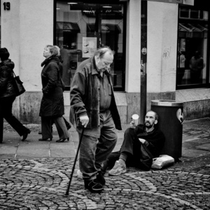 Beggar and crippled. | Leica 35mm f/1.4 Summilux <br> Click image for more details, Click <b>X</b> on top right of image to close