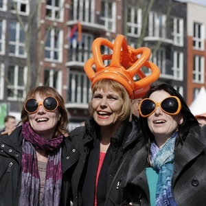 Celebrating Kingsday in the Netherlands | EF 70-200mm II f2.8 <br> Click image for more details, Click <b>X</b> on top right of image to close