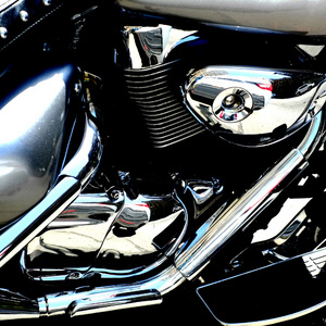 motorcycle - up close