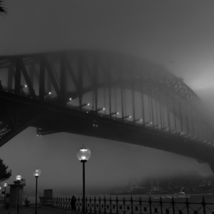 Foggy Bridge | Leica SUMMICRON 35mm f2 ASPH <br> Click image for more details, Click <b>X</b> on top right of image to close