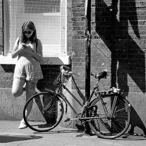 Bike Girl | Lens model not set <br> Click image for more details, Click <b>X</b> on top right of image to close