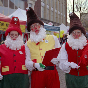 Christmas Elves | Nikon 50 mm f/1.8 <br> Click image for more details, Click <b>X</b> on top right of image to close