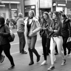 Oxford Street, London | FD 50mm f1.4 <br> Click image for more details, Click <b>X</b> on top right of image to close