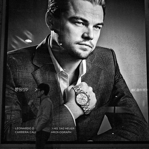 Leonardo DiCaprio Tag Heuer Billboard | CV 35 mm / F 2,5 Color Skopar Classic <br> Click image for more details, Click <b>X</b> on top right of image to close