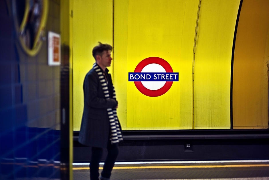 Bond Street Station Jubilee Line | Zeiss ZM C Sonnar T* f1.5 50mm <br> Click image for more details, Click <b>X</b> on top right of image to close