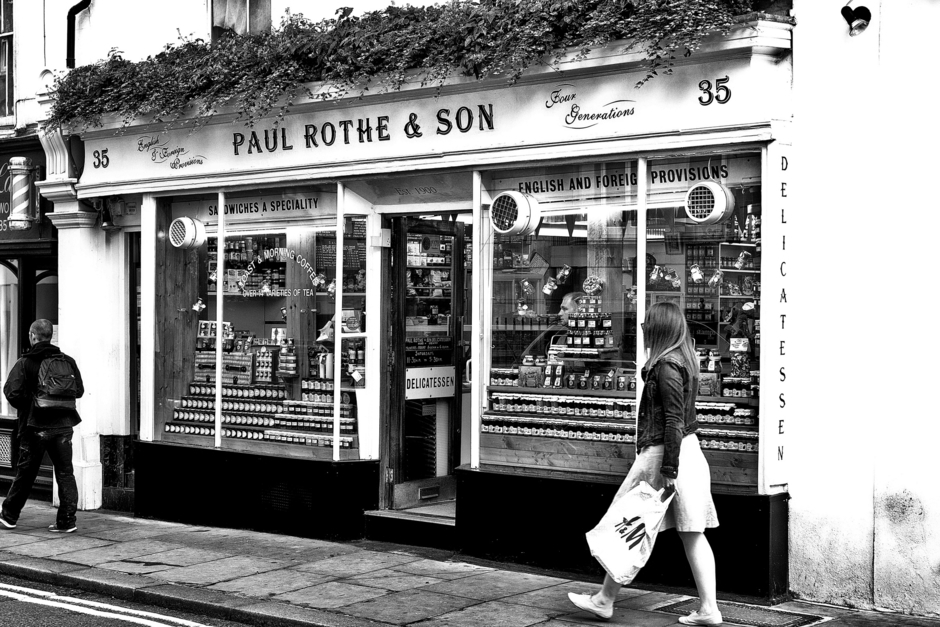 Paul Rothe Delicatessen Marylebone | Zeiss Lens detail has not been set <br> Click image for more details, Click <b>X</b> on top right of image to close