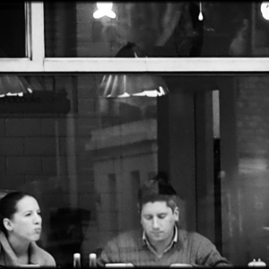 through the cafe window | Lens model not set